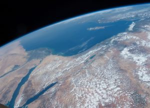 Part of the Middle East photographed by American astronaut Tim Kopra from the International Space Station on 14 April 2016. Photograph courtesy of NASA.