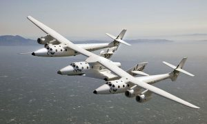 Virgin Galactic's SpaceShip Two. Photograph courtesy of Virgin Galactic.