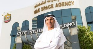 Dr. Mohammed Nasser Al-Ahbabi, Director General of the UAE Space Agency. Photograph courtesy of ArabianBusiness.com