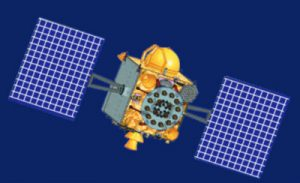 IRNSS-1 satellite. Image courtesy of the Indian Space Research Organisation (ISRO).