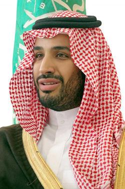 Deputy Crown Prince of the  Kingdom of Saudi Arabia, Prince Mohammed bin Salman. Photograph courtesy of GlobalSecurity.org.