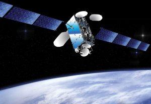 Artists conception of EUTELSAT 7B. Image courtesy of Eutelsat.