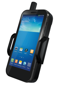 The Thuraya SatSleeve+. Photograph courtesy of Thuraya Telecommunications Company.