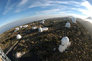 The European Space Agency's Optical Ground Station in Tenerife, Canary Islands, Spain. Photograph courtesy of the European Space Agency.