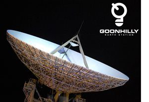 The Goonhilly Earth Station antenna. Photograph courtesy of Goonhilly Earth Station Ltd.