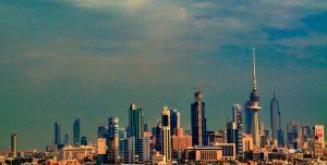 The skyline of Kuwait City, Kuwait. Photograph courtesy of Wikipedia.