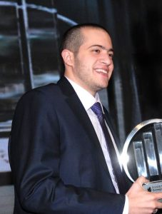 Mohammed Al-Shaker, the founder of the Jordanian company ArabiaWeather. Photograph courtesy of Wikipedia.