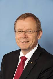 """Johann-Dietrich """"Jan' Woerner, the Director-General of the European Space Agency. Photograph courtesy of the ESA."""