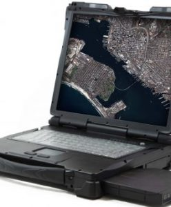 The GATOR Rugged Geospatial Laptop. Photograph courtesy of Airbus Defence and Space.
