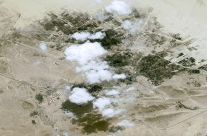 Pleiades satellite image of Palmyra, Syria. Image courtesy of Airbus Defence & Space.