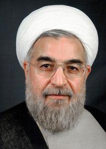Iranian President Hassan Rouhani. Photograph courtesy of Wikipedia.