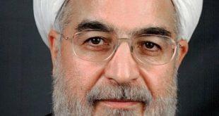 Iranian President Hassan Rouhani. Photograph courtesy of Wikipedia.