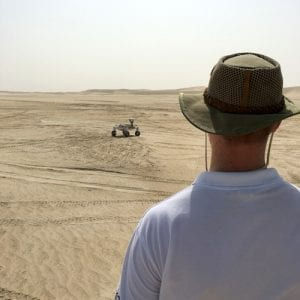 Desert test ALQ; Credits: SpaceWatch Middle East