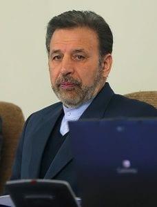 Iranian Minister of Communication and Information Technology, Mahmoud Vaezi. Photograph courtesy of Wikipedia.