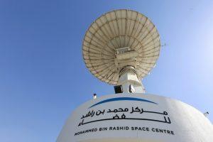阿拉伯联合酋长国迪拜的穆罕默德·本·拉希德太空中心。鸣谢:《国民报》的杰弗里·比滕(Jeffrey E. Biteng)。