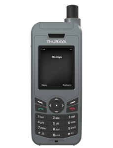 Thuraya's XT-Lite handset. Picture courtesy of Thuraya.