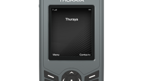 Thuraya's XT-Lite handset. Picture courtesy of Thuraya.