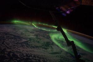 "On June 24, 2016, Expedition 48 Commander Jeff Williams of NASA photographed the brilliant lights of an aurora from the International Space Station. Sharing the image on social media, Williams wrote, ""We were treated to some spectacular aurora south of Australia today."" Image Credit: NASA"