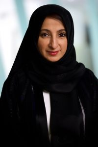 Mona Al-Muhairi, the new Chief Human Capital Officer at Yahsat. Photograph courtesy of Yahsat.