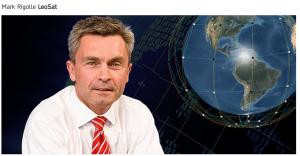 LeoSat CEO Mark Rigolle - Credits: Leosat