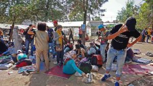 Serbia Presevo Camp - Credits: TSF