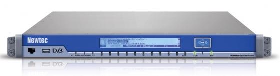 MDM9000 satellite modem; Credits: Newtec