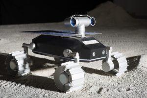 The Team Indus ECA moon rover. Photograph courtesy of Team Indus.