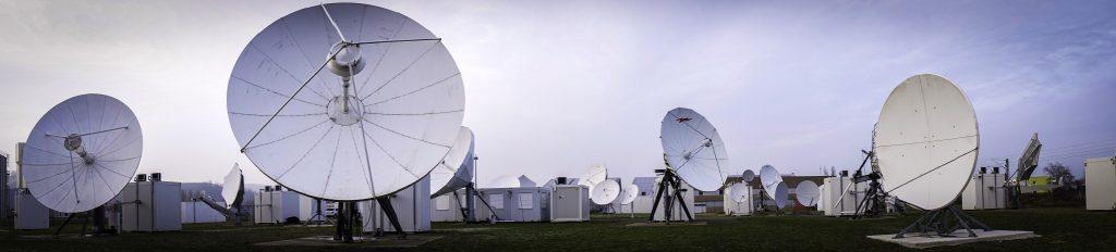 North Telecom teleport - Credits: North Telecom