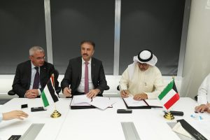 Cooperation agreement between Gulfsat and Palsat; Credits: Gulfsat