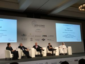 CEO Panel at WSRF2016; Credits: SpaceWatch Middle East