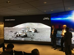 Mission to the Moon presentation; Credits: SpaceWatch Middle East