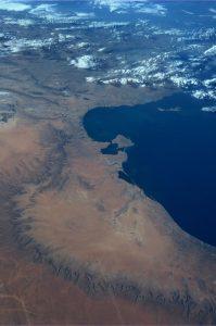 Satellite View of Tunisia