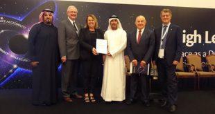 Presentation of the Dubai Declaration; Credits: UNOOSA