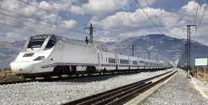 A Spanish high-speed train operated by Renfe Operadora. Image credit: Getty Images/IStockphoto.