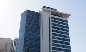 Thuraya's headquarters in Dubai, United Arab Emirates. Photograph courtesy of propsearch.ae