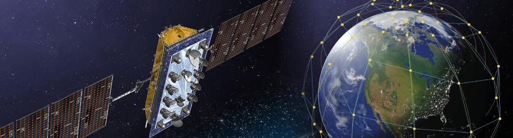 LeoSat Satellite & Constellation; Credit: Thales