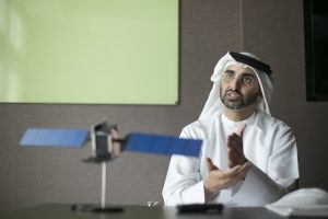 Masood Mahmood, Chief Executive Officer of Yahsat. Photograph courtesy of The National.