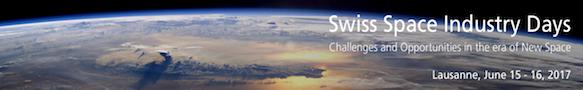SwissSpaceDays_2017 Banner