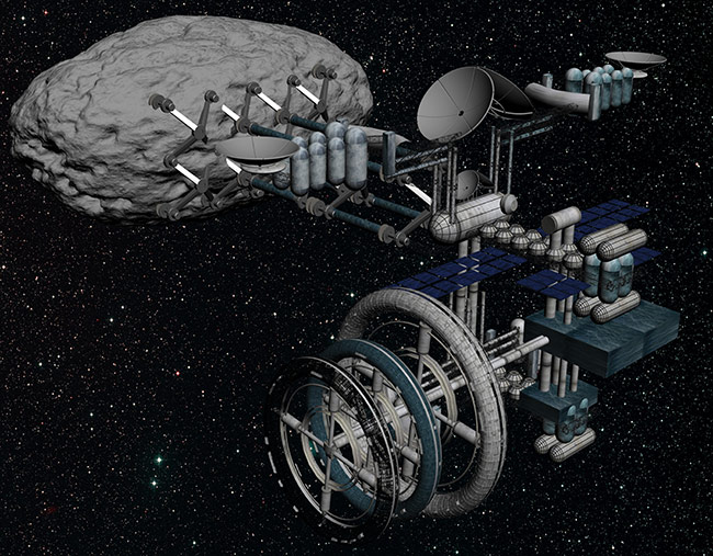 how to make a mining machine space engineers