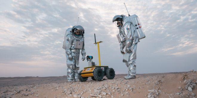 Landing Day: OeWF starts 12. Mars Analog Mission in Oman