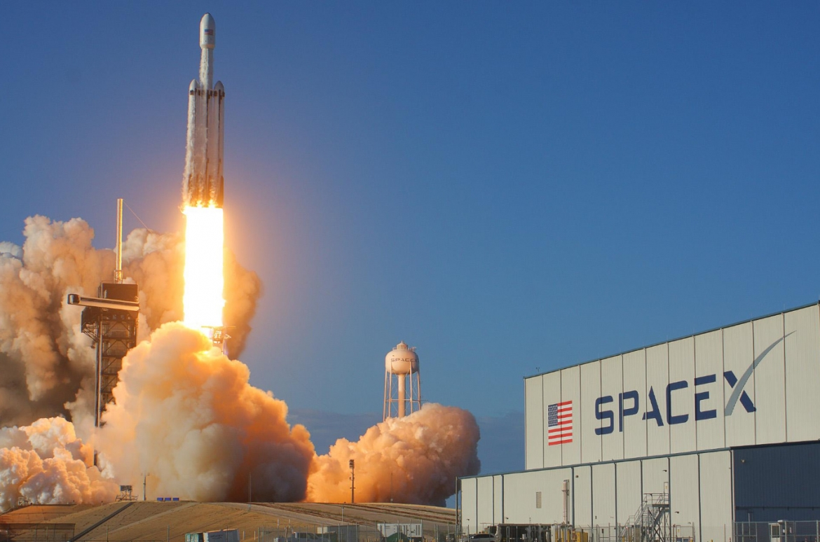 Falcon Heavy Launch Lofts Arabsat-6A and Achieves Historic Triple