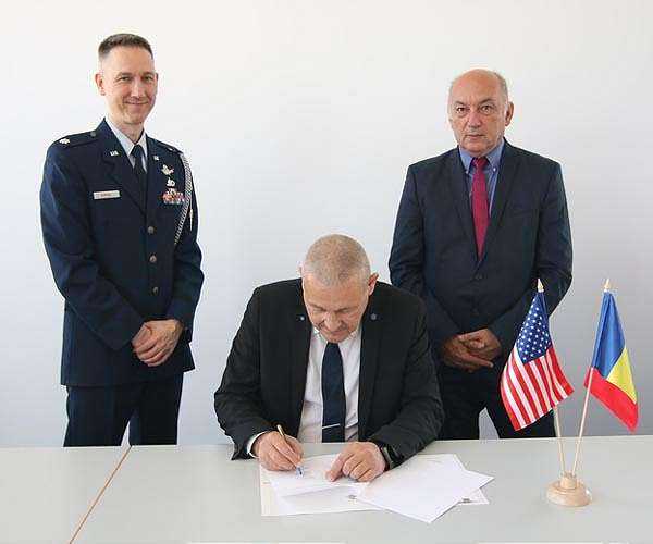 European Military Space: Romanian Space Agency Signs Space