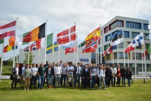 The delegates of the 4th European Space Generation Workshop (E-SGW). Used with permission from the Space Generation Advisory Council (SGAC).