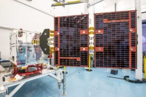 FORMOSAT-7 spacecraft at SSTL. Credit: SSTL