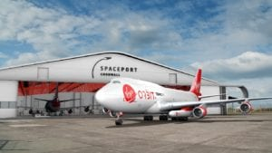 Spaceport Cornwall, courtesy Virgin Orbit