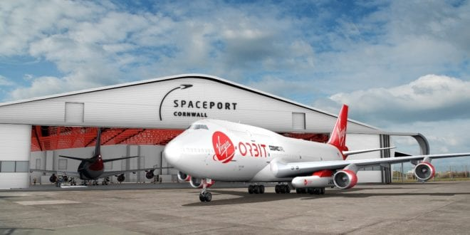 UK Space Agency To Provide $9.5 Million Funding To Virgin Orbit For Cornwall Spaceport Use