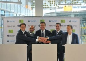Telnet, SPUTNIX and GK Launch Services sign MoU