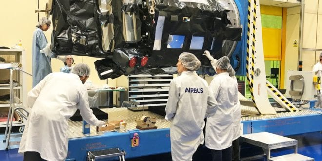 Spain's SEOSAT/Ingenio Earth Observation Satellite Built By Airbus Ready For Pre-Launch Testing