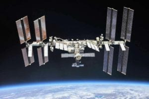 ISS, courtesy NASA