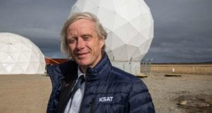 Rolf Skatteboe, President and CEO, KSAT